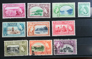 British colonies stamps - Trinidad and Tobago, early years of QEII