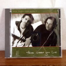 RARE Red Shoes for Nancy / House Where You Live CD Album Rudy 1995 playgraded M-