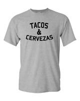 Tacos and Cervezas T-shirt Funny T Shirt Cinco de Mayo Novelty Tee
