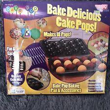 THE ORIGINAL BAKE POP, CAKE POP MAKER Non Stick PAN