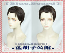 Detroit: Become Human Connor Wig Cosplay Black-Brown hair Slicked-back Wigs Gift