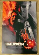 Barret Chapman HALLOWEEN Movie Poster Screen Print Hero Complex HCG Art
