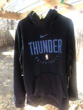Nike Nba Okc Thunder Player Issue Blue Hoodie Large-Tall BnwT 934546 419 Rare