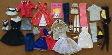 VINTAGE BARBIE DOLL SHOES & ACCESSORIES + CLOTHING LOT AFTER 5 PARTY DATE & MORE