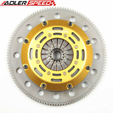 ADLERSPEED Racing Clutch Twin Disk For ACURA INTEGRA B18 B20 B16 Medium Weight