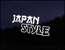 Style Japon Jdm Drôle Autocollant Drift Course Vinyle Autocollant Japon MAZDA NISSAN HONDA