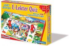 Clementoni mein erstes Lern Spiel E-lektor Quiz Stift 12 Themen 100 Quizfragen