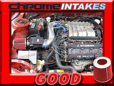BLUE RED 1991-1999 MITSUBISHI 3000GT GTO/DODGE STEALTH N/T 3.0L AIR INTAKE KIT