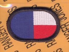 345th PSYOPS BN Airborne USAR Texas para oval patch B