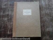 original Geheimer Manuskript druck Dräger Luftschutz 1945 ww 2. Weltkrieg Luft