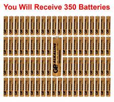 (350-Pack) GP Size AAA Batteries Alkaline 1.5V LR03 BULK Wholesale Lot 2021