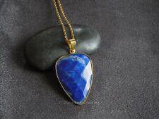Lapis Lazuli Necklace Natural Stone Healing Reiki Chakra Bohemian Jewellery Gift