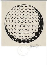 Kunstkarte / Postcard Art - Roy Lichtenstein: Golfball