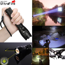 Tactical Ultrafire 50000 Lumens T6 LED Flashlight Zoomable 18650 Torch Camping