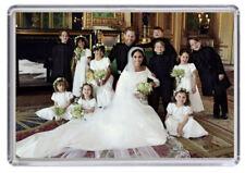 Prince Harry and Meghan Markle Royal Wedding Fridge magnet 08
