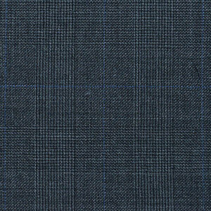 Grey Prince of Wales Super 120's All Wool Suiting - 3.50 Metres