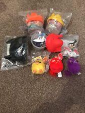 McDonalds Toys Happy Meal Mixed Bundle x 8 Furby Smurfs Batman Minions Most New