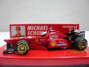 EXTREMELY RARE Ferrari F310/2 Schumacher Winner Italiy 1996 MS31 1:43 Minichamps