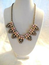 "Lovely pink AB rhinestone necklace 21.5"""
