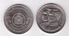 THAILAND - 10 BAHT UNC COIN 1993 YEAR Y#283 60th ANNI TREASURE DEPARTMENT