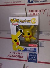 FUNKO POP GAMES POKEMON: PIKACHU #353. TARGET EXCLUSIVE. IN HAND, MINT CONDITION