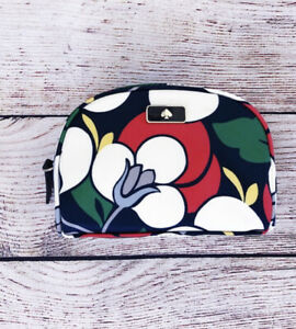 Kate Spade New York Cosmetic Wristlet Clutch Bag Dawn Breezy Floral
