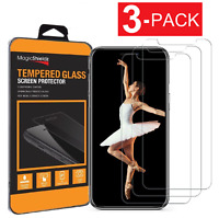 3 Pack Tempered Glass Screen Protector For iPhone X  Xs  Xr  Xs Max 11 Pro Max