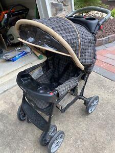Foldable Baby Stroller With Visor