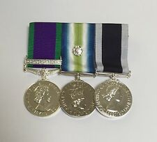 GSM Northern Ireland, Falklands, Royal Navy LSGC, Full Size Swing Mounted Medals