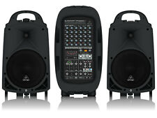 Behringer PPA2000BT Compact 2000-Watt 8-Channel Portable PA System w/ Bluetooth