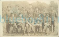 More details for ww1 army pay corps section photo with dog mascot