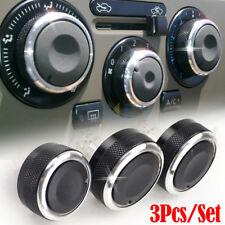 3Pc Heat Control Heater Switch Knob Buttons For Nissan Tiida C11 NV200 Livina