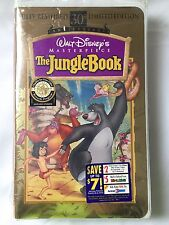 Jungle Book Disney Masterpiece Collection 30th Anniv Edition VHS Sealed RARE 97