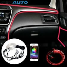 Mit App Auto KFZ RGB LED 6m Ambientebeleuchtung Innenraumbeleuchtung Lichtleiste