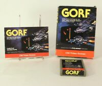 Vintage Boxed Atari 2600 game Gorf By CBS Electonics  Tested & Working