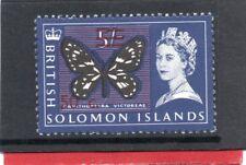 Solomon Isles QE2 1966-67 decimal currency 50c on 5s sg 150b H.Mint