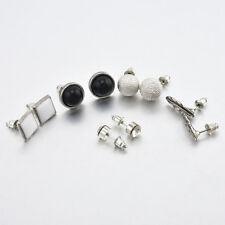 Women 6 Pairs Various Shape Styles Ear Studs Earrings Set Gifts Jewelry