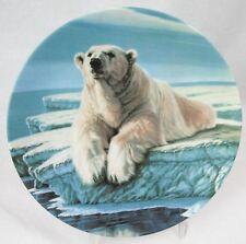 "1990 ""The Polar Bear"" Plate Paul Krapf 6th plate in Canada Big Game Limited Ed"