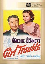 niña Trouble DVD (1942) - DON AMECHE, JOAN BENNETT, BILLIE BURKE, Frank CRAVEN