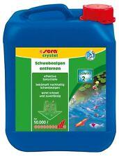 sera pond crystal - gegen Schwebealgen im Teich - Anti Algen (1 x 5000 ml)