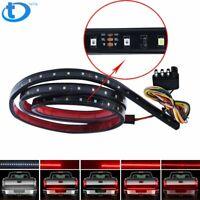 "48"" LED Tailgate Light Bar Triple Row 5-Function Strip for Pickup Trailer SUV US"
