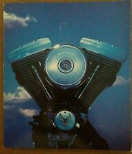 1988 Harley Brochure Book XLH Sportster FXST FXRT FXRS FLHS FLTC Electra Glide
