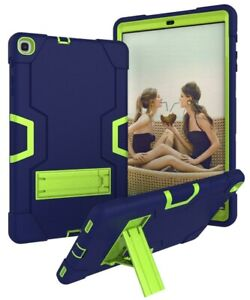 For Samsung Galaxy Tab A 10.1 2019 SM-T510 SM-T500 Case PC Silicon Hybrid Stand
