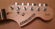 Fender Starcaster guitar neck rosewood Strat tuners Squier Stratocaster + tuners
