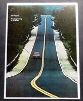 ORIGINAL 1973 VOLKSWAGEN TYPE 3 FASTBACK BROCHURE ~ 6 PAGES ~US VERSION ~VW3