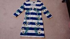 Womens S floral Juicy Couture 3/4 sleeve beach cover up dress JG007449 RN92918