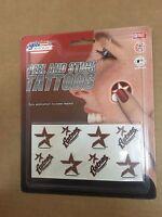 B1) Houston Astros Peel and Stick Baseball Tattoos MLB New   Free Shipping