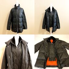 Kapraun   Men's Leather Down Jacket   US Men's Extra Large; 50 DE