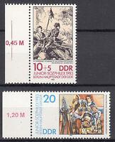 DDR 1983 Mi. Nr. 2812-2813 mit Rand Postfrisch (26667)