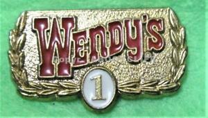 WENDY'S 1 yr EMPLOYEE SERVICE AWARD Pin